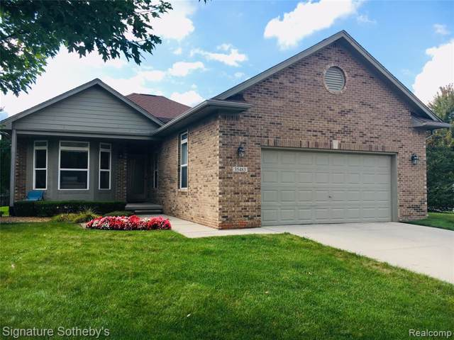35483 Montecristo Drive, Sterling Heights, MI 48310 (#219097451) :: Springview Realty