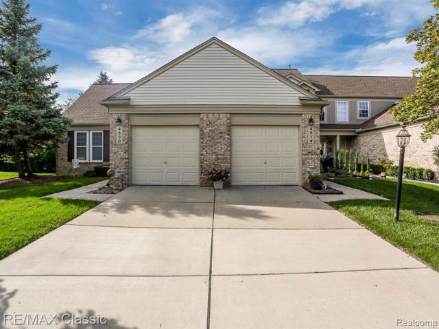 4514 Hunters Circle W, Canton Twp, MI 48188 (#219098270) :: The Buckley Jolley Real Estate Team