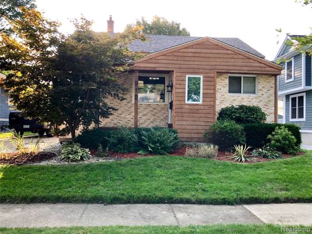 912 Cherokee Avenue, Royal Oak, MI 48067 (MLS #219098382) :: The Toth Team