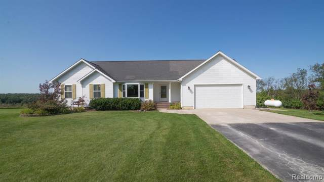 9881 Scully Road, Webster Twp, MI 48189 (MLS #219098601) :: The Toth Team