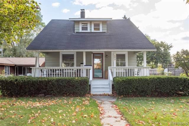 604 Parkdale Avenue, Rochester, MI 48307 (#219099037) :: Springview Realty