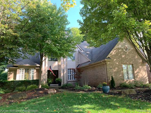 54388 Royal Troon Drive, Lyon Twp, MI 48178 (#219099460) :: The Mulvihill Group