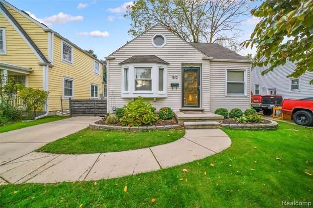 1512 N Altadena Avenue, Royal Oak, MI 48067 (#219099633) :: The Buckley Jolley Real Estate Team