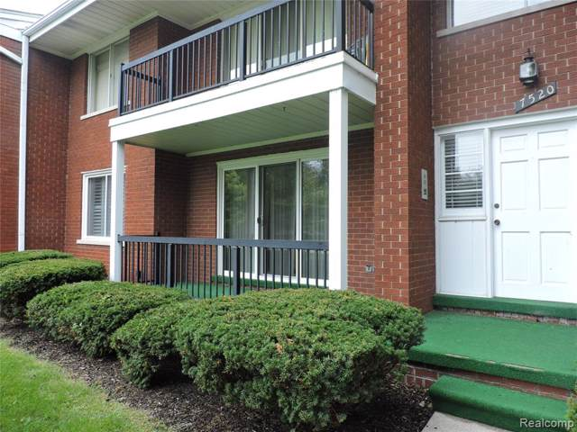 7520 Macomb Unit 5A, Grosse Ile Twp, MI 48138 (#219100428) :: The BK Agency