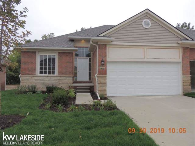 14980 Village Park Circle Unit #70, Shelby Twp, MI 48315 (#58031396053) :: Novak & Associates