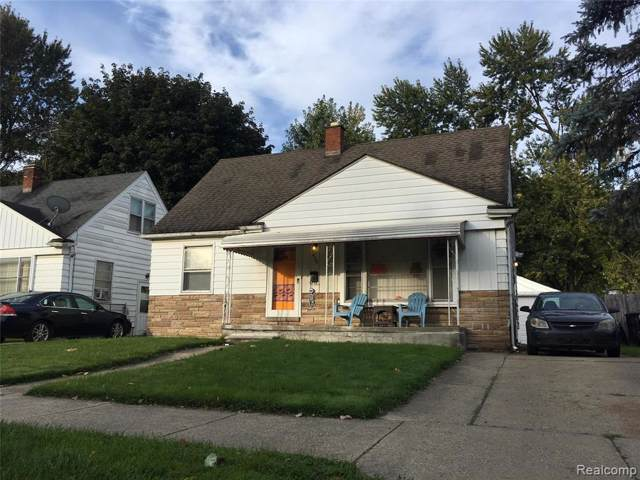 16555 Woodbine Street, Detroit, MI 48219 (MLS #219100988) :: The Toth Team
