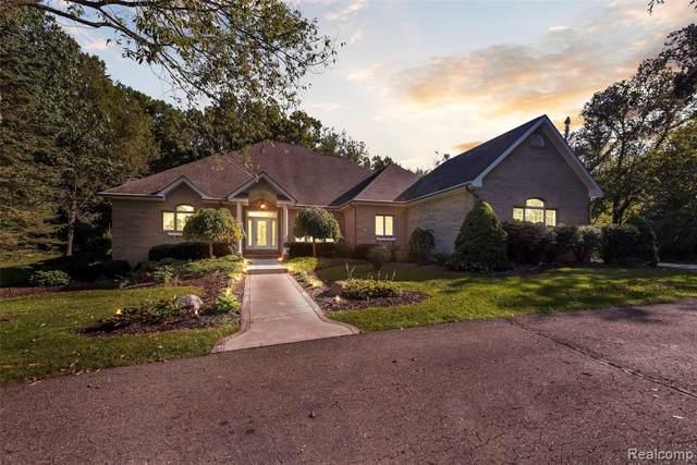442 Jeni Lane, Hartland Twp, MI 48380 (#219101526) :: GK Real Estate Team