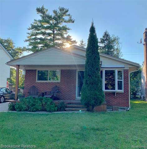 3347 Prairie Avenue, Royal Oak, MI 48073 (#219101593) :: The Buckley Jolley Real Estate Team