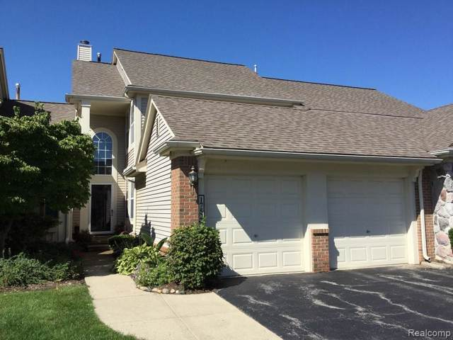 1752 Thistle Drive #38, Canton Twp, MI 48188 (#219101988) :: The Buckley Jolley Real Estate Team