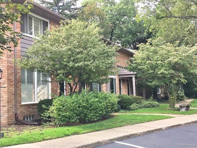 1039 N Old Woodward Avenue #14, Birmingham, MI 48009 (#219102595) :: The Buckley Jolley Real Estate Team