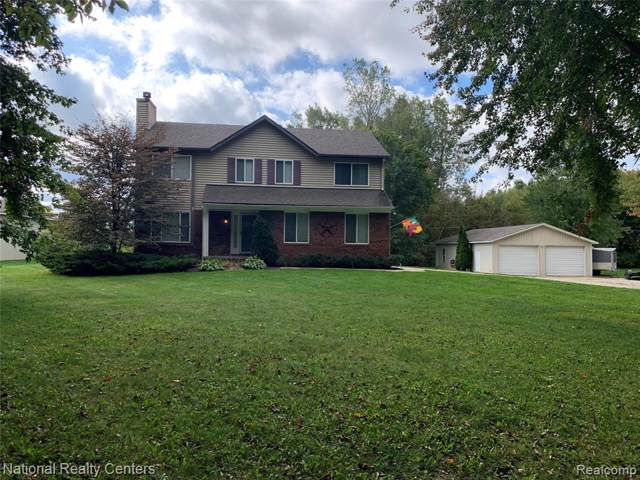2279 Hummer Lake Road, Oxford Twp, MI 48371 (#219103187) :: The Alex Nugent Team | Real Estate One