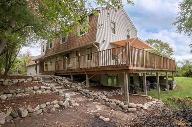 7726 N Gregory Road, Conway Twp, MI 48836 (#219103195) :: The Alex Nugent Team | Real Estate One