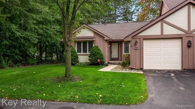 44703 Erin Drive, Plymouth Twp, MI 48170 (#219103420) :: Duneske Real Estate Advisors