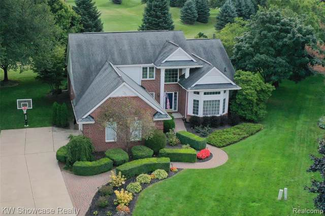 22734 Spy Glass Hill Drive, Lyon Twp, MI 48178 (#219103456) :: The Mulvihill Group