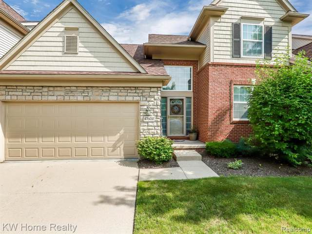 47602 Scenic Circle Drive N #92, Canton Twp, MI 48188 (#219103608) :: The Buckley Jolley Real Estate Team