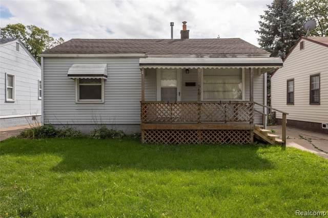 568 E Barrett Avenue, Madison Heights, MI 48071 (#219104187) :: Alan Brown Group
