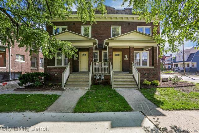 206 Marston, Detroit, MI 48202 (#219104260) :: The Buckley Jolley Real Estate Team