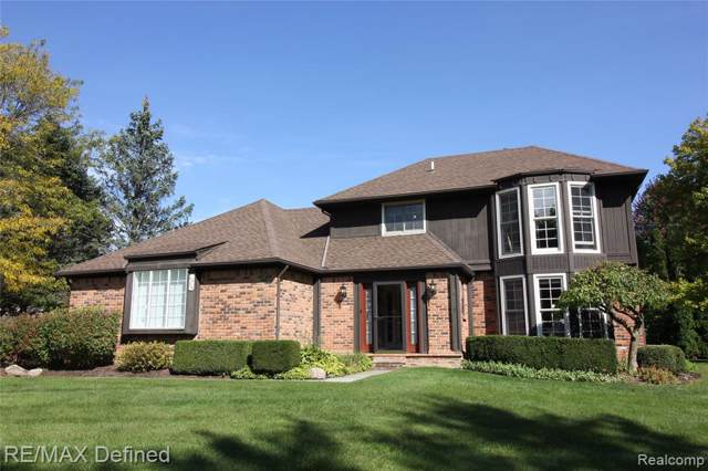 6458 Denton Court, Troy, MI 48098 (#219104696) :: Alan Brown Group