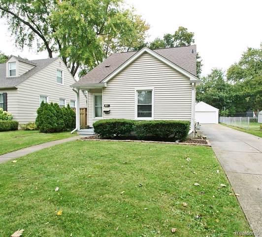 807 N Rembrandt Avenue, Royal Oak, MI 48067 (#219105118) :: Alan Brown Group
