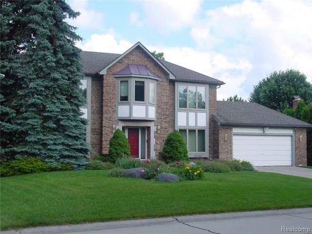 17190 Victor Drive, Northville Twp, MI 48168 (#219105272) :: The Mulvihill Group