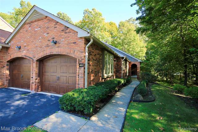 4065 Hidden Woods Drive, Bloomfield Twp, MI 48301 (#219105468) :: Team Sanford