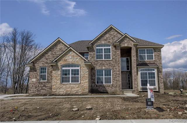 55172 Forestview Drive, Lyon Twp, MI 48178 (#219105887) :: The Mulvihill Group