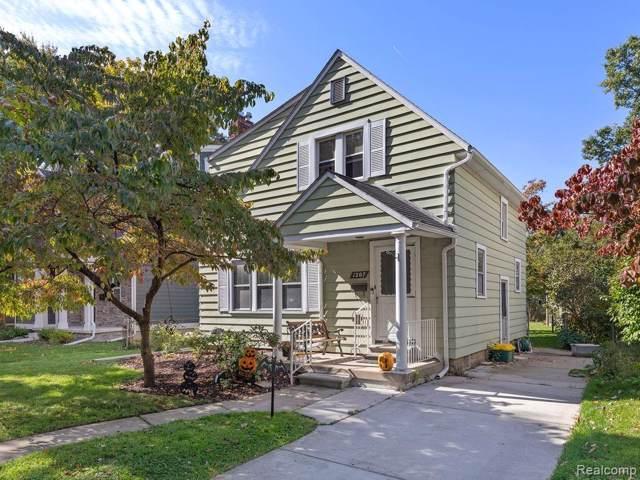 1207 Ferris Avenue, Royal Oak, MI 48067 (#219106494) :: Keller Williams West Bloomfield