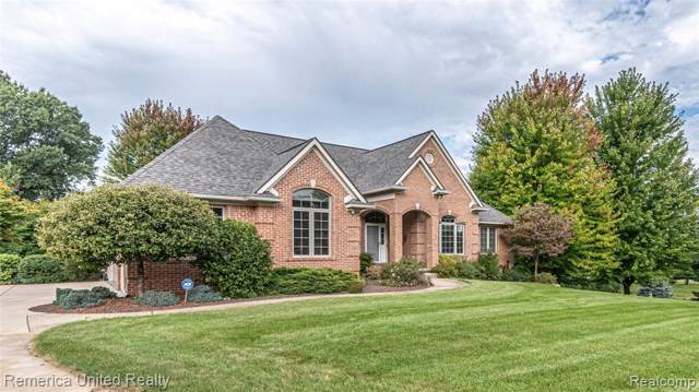 11445 Olde Wood Trl, Tyrone Twp, MI 48430 (MLS #219106554) :: The Toth Team
