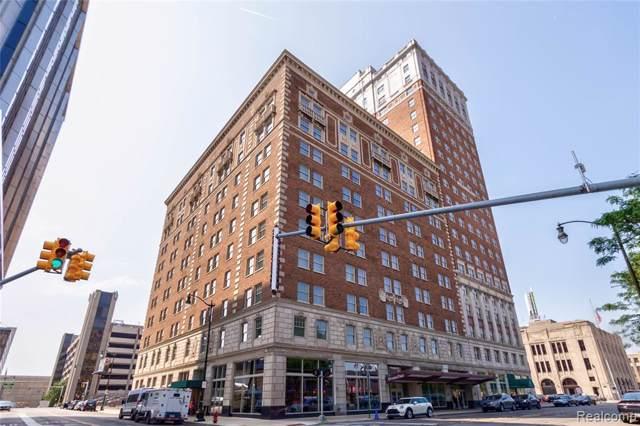 525 W Lafayette Avenue 19D, Detroit, MI 48226 (#219106812) :: Keller Williams West Bloomfield