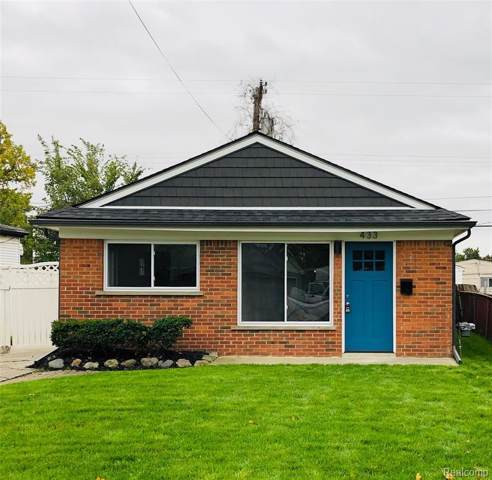 433 W Pearl Avenue, Hazel Park, MI 48030 (MLS #219106907) :: The Toth Team