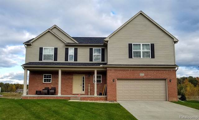 8125 Peninsula Circle, Mundy Twp, MI 48439 (#219106949) :: The Buckley Jolley Real Estate Team