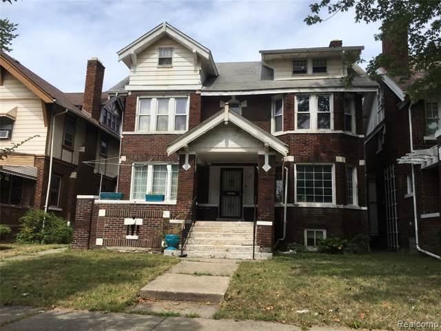 1444 Edison Street, Detroit, MI 48206 (#219106954) :: The Mulvihill Group