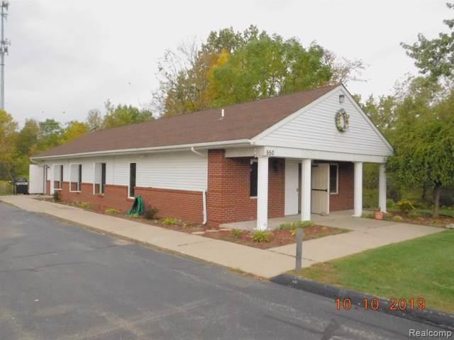 550 S Saginaw Street, Lapeer, MI 48446 (#219106956) :: The Buckley Jolley Real Estate Team