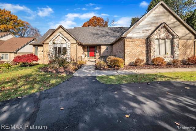 4813 Oak Tree Court, Genoa Twp, MI 48116 (#219107088) :: The Buckley Jolley Real Estate Team