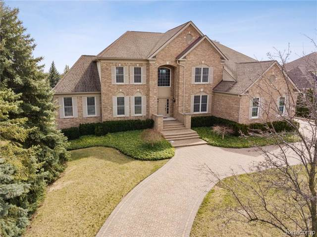 45415 Tournament Drive, Northville Twp, MI 48168 (#219107308) :: GK Real Estate Team