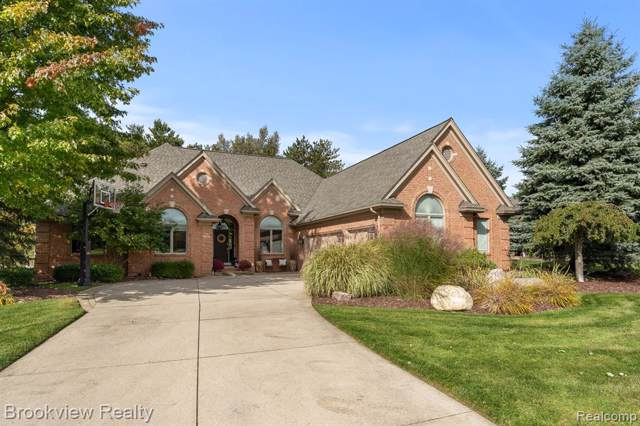 1740 Royal Birkdale Drive, Oxford Twp, MI 48371 (#219107311) :: The Mulvihill Group