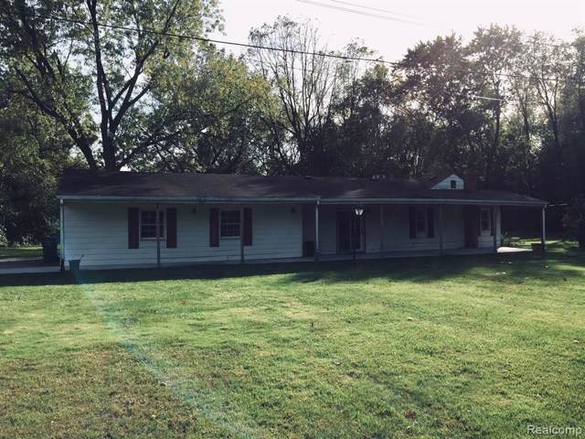 41811 Five Mile Road, Plymouth Twp, MI 48170 (#219107578) :: GK Real Estate Team