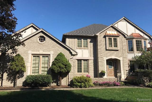 54931 Chippewa Court, Shelby Twp, MI 48315 (#219107682) :: The Buckley Jolley Real Estate Team