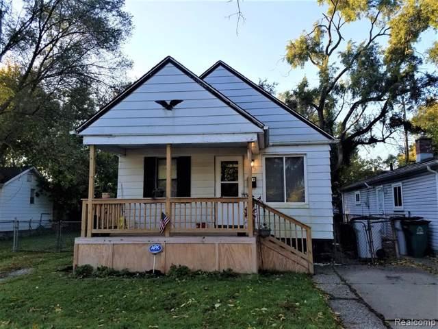 119 W George Avenue, Hazel Park, MI 48030 (#219107733) :: Springview Realty