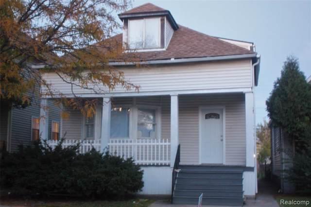 11428 Saint Aubin Street, Hamtramck, MI 48212 (#219107784) :: The Buckley Jolley Real Estate Team