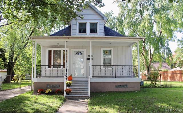 1903 Hanford Avenue, Lincoln Park, MI 48146 (#219107831) :: The Buckley Jolley Real Estate Team
