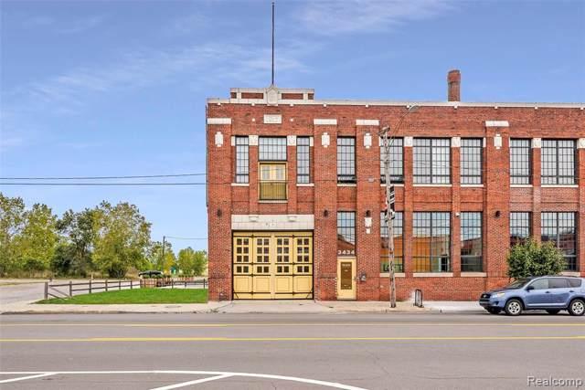 3434 Russell Street, Detroit, MI 48207 (MLS #219107918) :: The John Wentworth Group