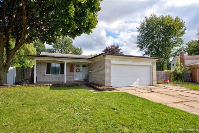 1840 Greenbrier Drive, Madison Heights, MI 48071 (MLS #219107939) :: The John Wentworth Group