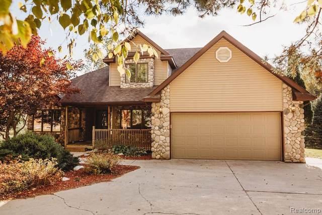 5325 Pine Knob Estates Drive, North Branch Twp, MI 48461 (#219108035) :: The Buckley Jolley Real Estate Team