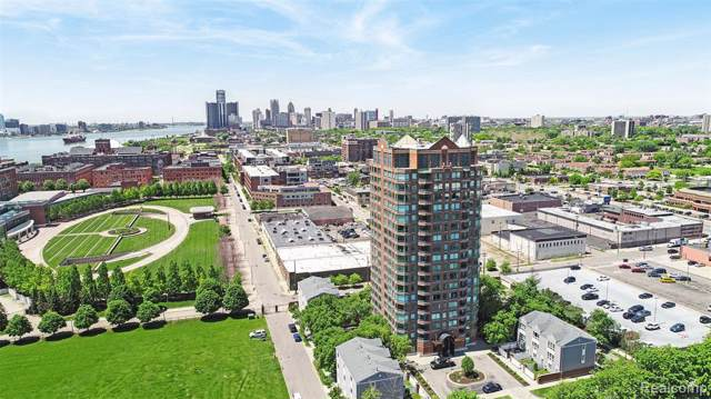 3320 Spinnaker Lane 14F, Detroit, MI 48207 (MLS #219108187) :: The John Wentworth Group