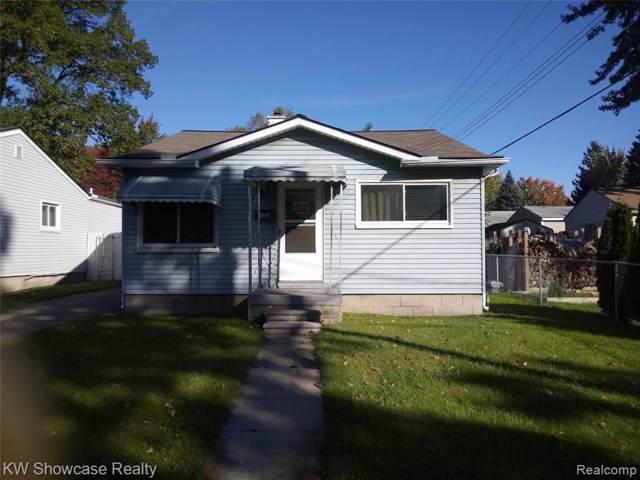 785 Tennyson Ave, Pontiac, MI 48340 (#219108370) :: The Alex Nugent Team | Real Estate One