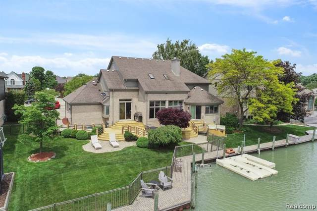 49573 Regatta Street, Chesterfield Twp, MI 48047 (#219108464) :: The Mulvihill Group