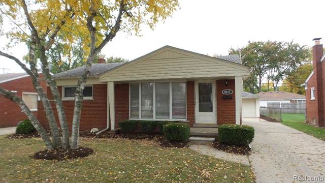 8417 Lochdale Street, Dearborn Heights, MI 48127 (#219108565) :: The Mulvihill Group