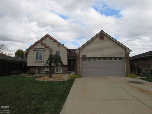 38052 Fringe Dr, Sterling Heights, MI 48310 (#58031398356) :: The Mulvihill Group
