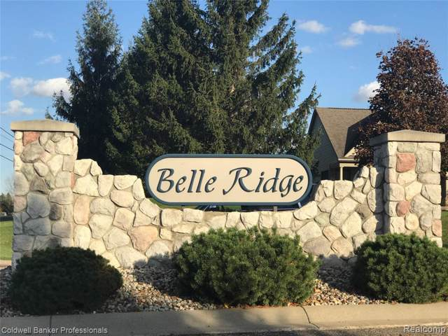 Lot 23 Belle Ridge Court, Dryden Vlg, MI 48428 (MLS #219108624) :: The Toth Team